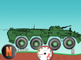 Car Physics BTR-80