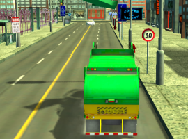 Garbage Truck Simulator : Recycling Driving