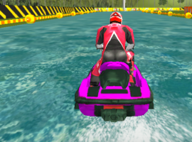 Super Jet Ski Race Stunt : Water Boat